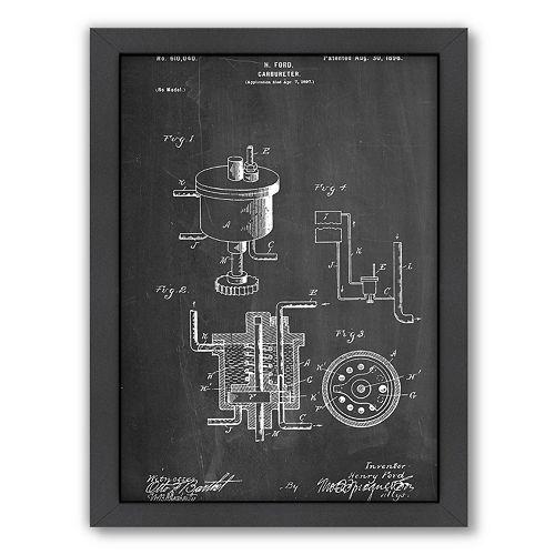 Americanflat ''Carburetor'' Framed Wall Art