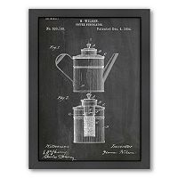 Americanflat ''Coffee Percolator'' Framed Wall Art