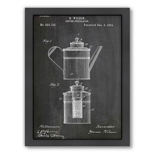 Americanflat ''Coffee Percolator'' Framed Wall Art