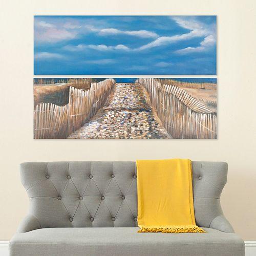 Safavieh 2-piece Sea & Sand Diptych Wall Art Set