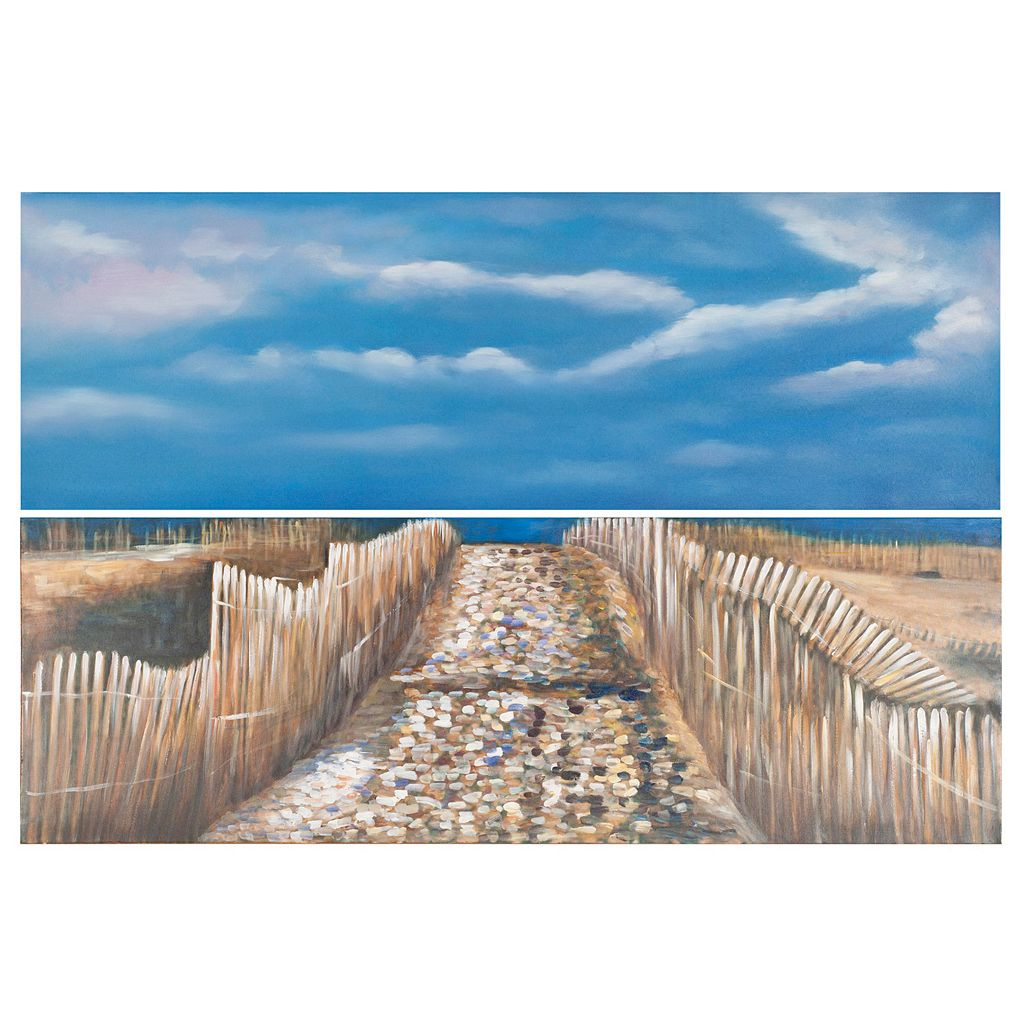 Safavieh 2-piece Sea and Sand Diptych Wall Art Set