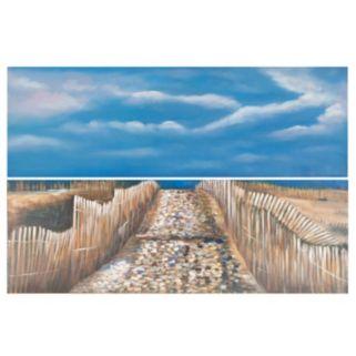Safavieh 2-piece Sea and Sand Diptych Wall Art Set