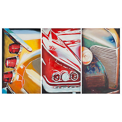 Safavieh 3-piece Auto Legends Triptych Wall Art Set