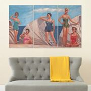 Safavieh 3 pc By The Sea Triptych Wall Art Set