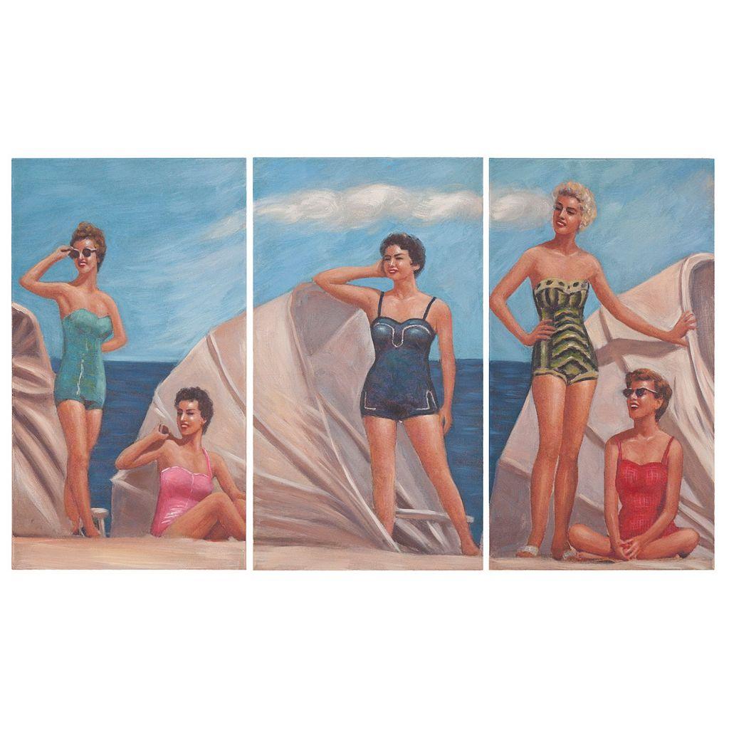 Safavieh 3-piece By The Sea Triptych Wall Art Set