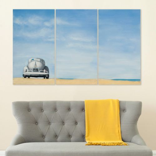 Safavieh 3-piece ''Dune Buggy'' Triptych Canvas Wall Art Set