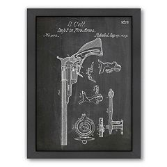 Americanflat ''Colt Firearm 1839'' Framed Wall Art