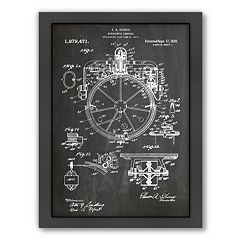 Americanflat ''Compass'' Framed Wall Art