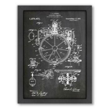 Americanflat ''Compass'' Framed Wall Art