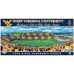 West Virginia Mountaineers 1000-pc. Panoramic Puzzle
