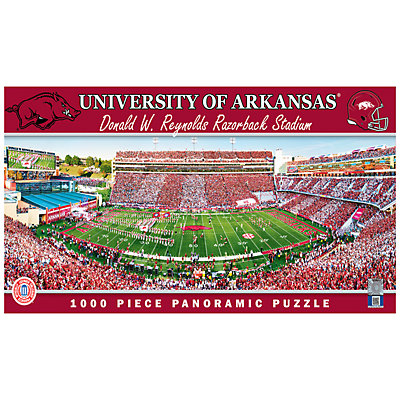 Arkansas Razorbacks 1000-pc. Panoramic Puzzle