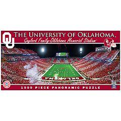 Oklahoma Sooners 1000 pc Panoramic Puzzle