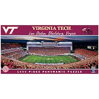 Virginia Tech Hokies 1000-Piece Panoramic Puzzle