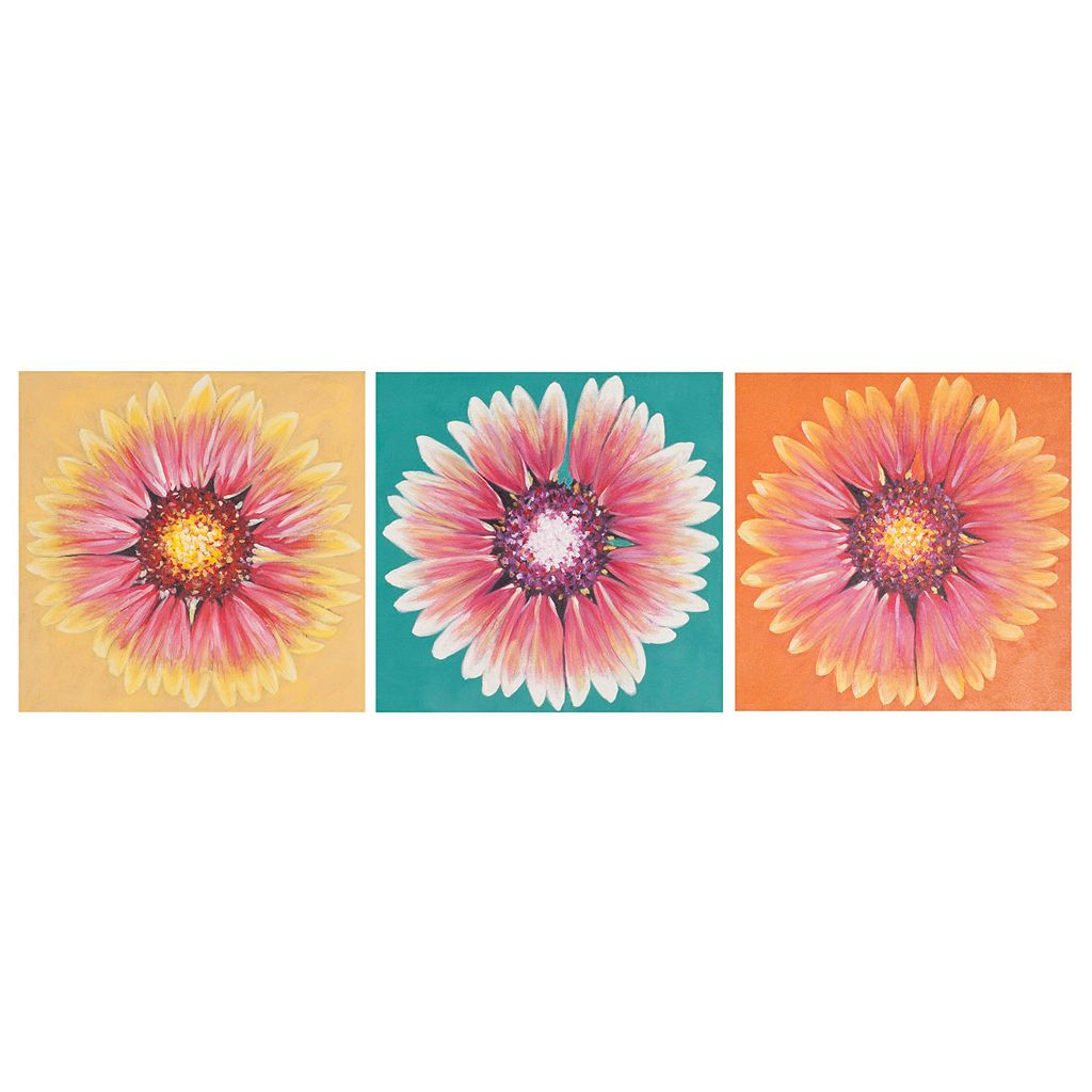 Safavieh 3-piece ''Shasta'' Triptych Canvas Wall Art Set