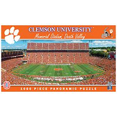 Clemson Tigers 1000-pc. Panoramic Puzzle
