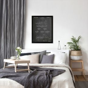 Americanflat ''Early Snowboard'' Framed Wall Art