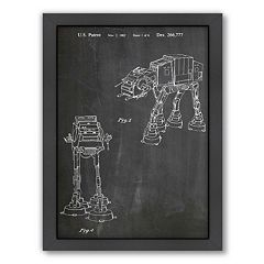 Americanflat ''Empire Strikes Back Vehicle'' Framed Wall Art