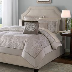 Madison Park Sausalito 6 pc Medallion Duvet Cover Set