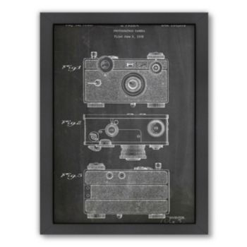 Americanflat ''Fassin Camera'' Framed Wall Art