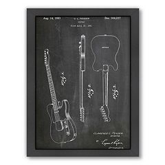Americanflat ''Fender Guitar'' Framed Wall Art