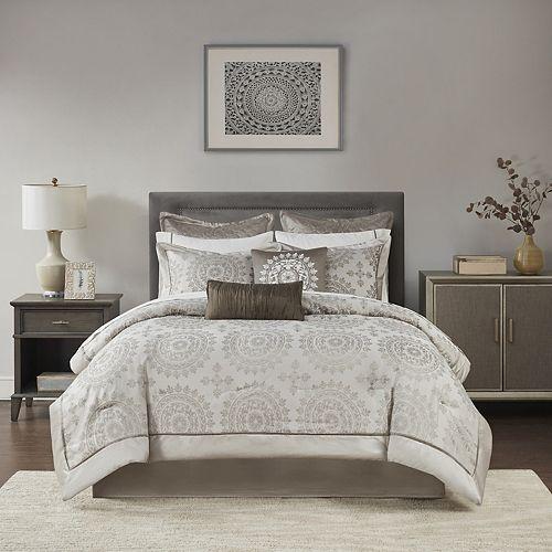 Madison Park Sausalito 12-pc. Medallion Bed Set