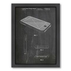 Americanflat ''iPhone'' Framed Wall Art