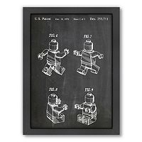 Americanflat ''Lego Mini 2'' Framed Wall Art