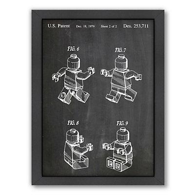 Americanflat ''Lego Mini 2'' Framed Wall Art