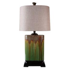 Glazed Table Lamp
