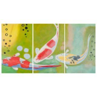 Safavieh 3-piece ''Beneath The Sea'' Triptych Canvas Wall Art Set