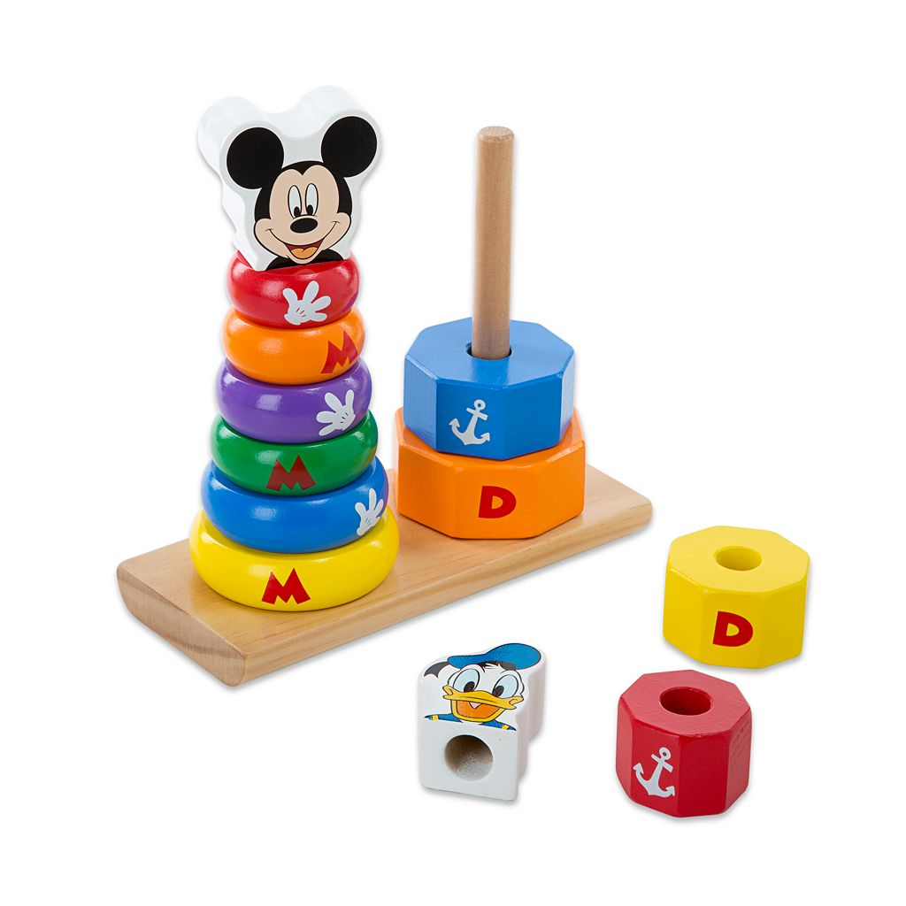Disney Mickey Mouse and Friends Wooden Stackers by Melissa and Doug