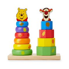 Disney Winnie the Pooh & Friends Wooden Stackers by Melissa & Doug