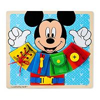 Disney Mickey Mouse Clubhouse Wooden Basic Skills Board by Melissa & Doug