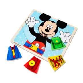 Disney Mickey Mouse Clubhouse Wooden Basic Skills Board by Melissa and Doug