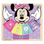 Disney Mickey Mouse & Friends Minnie Mouse Wooden Basic Skills Board by Melissa & Doug