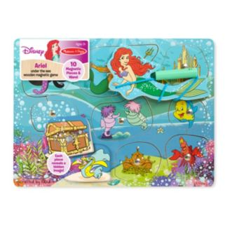 Disney Princess Ariel Under the Sea Wooden Magnetic Game by Melissa and Doug