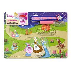 Disney Princess Cinderella Rags to Riches Magnetic Game by Melissa & Doug