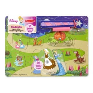 Disney Princess Cinderella Rags to Riches Magnetic Game by Melissa and Doug