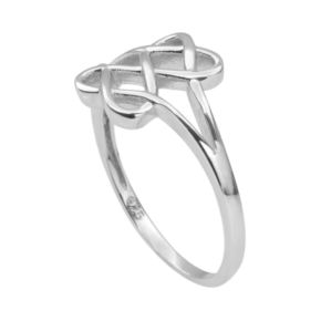 Journee Collection Sterling Silver Openwork Ring