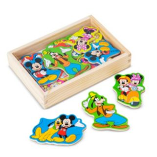 Disney Mickey Mouse Clubhouse Wooden Magnets by Melissa and Doug