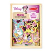 Disney Mickey Mouse & Friends Minnie Mouse Wooden Magnets by Melissa & Doug