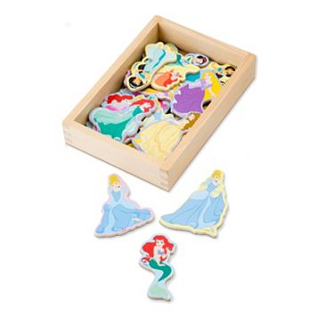 Disney Princess Wooden Magnets by Melissa & Doug