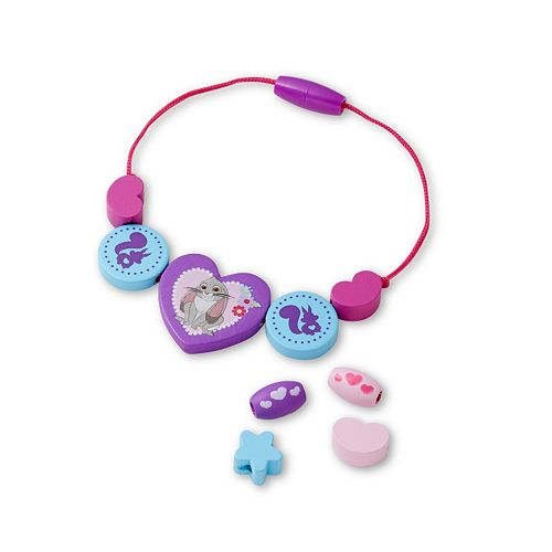 Disney Sofia the First Deluxe Wooden Bead Set by Melissa & Doug