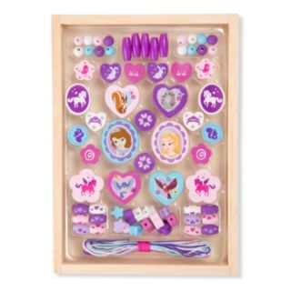 Disney Sofia the First Deluxe Wooden Bead Set by Melissa and Doug