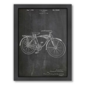 Americanflat ''Schwinn Bicycle'' Framed Wall Art