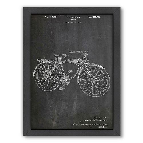 Americanflat ''Schwinn Bicycle'' Framed Wall Art
