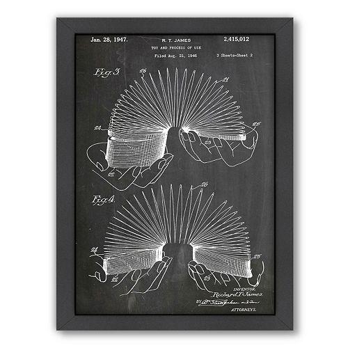 Americanflat ''Slinky'' Framed Wall Art