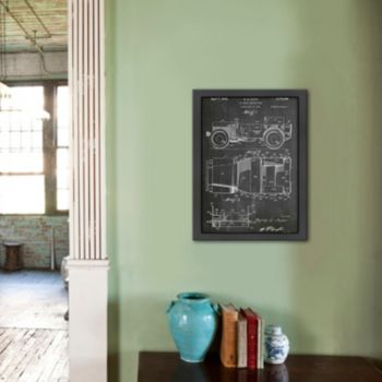 Americanflat ''Willy's Jeep'' Framed Wall Art