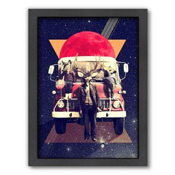 Americanflat ''El Camion'' Framed Wall Art