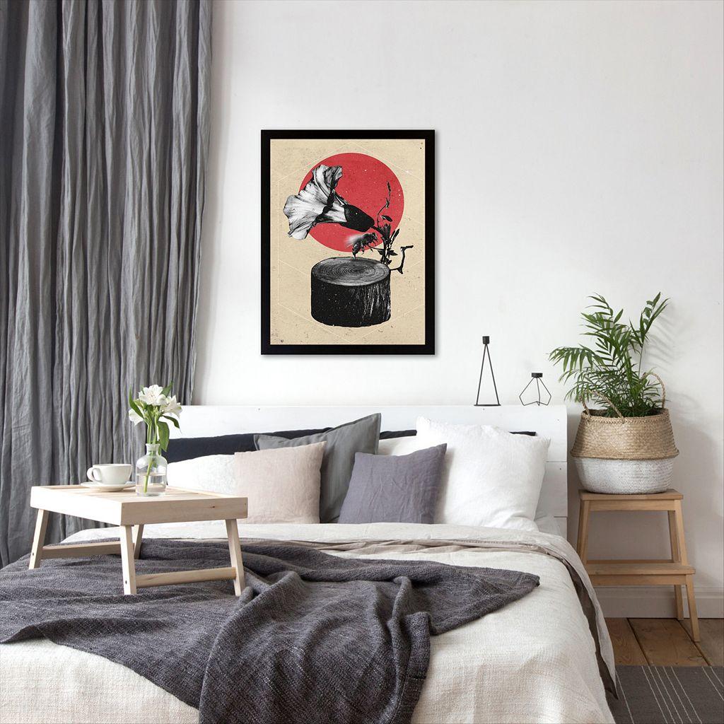 Americanflat ''Gramophone'' Framed Wall Art